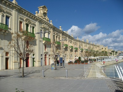 Мальта - Valletta waterfront